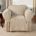 мягкое кресло с чехлом