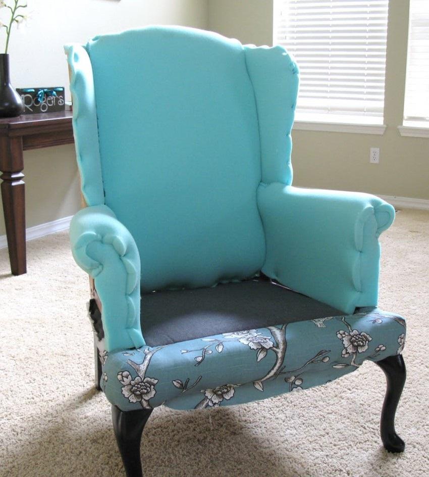 внутренняя часть кресла