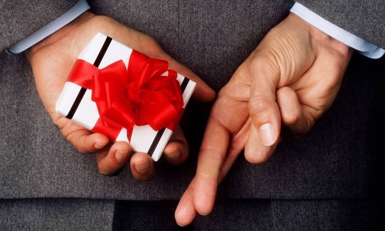 неожиданный подарок кольца