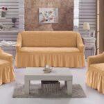 диван обтяжка светлая
