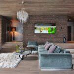 диван перетяжка серый
