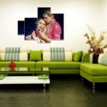 диван перетяжка зеленый