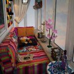 диван перетяжка на балкон