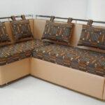 диван обтяжка с подушками