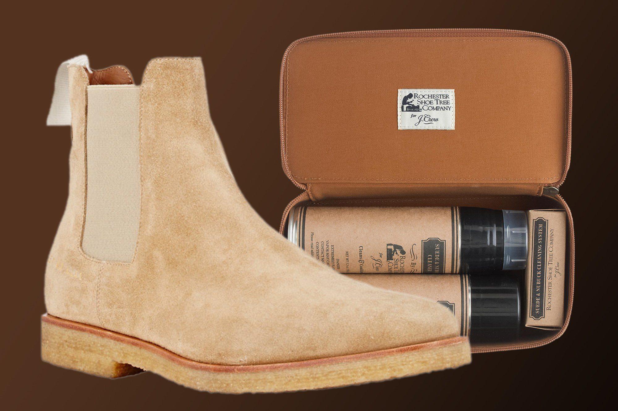 осторожность при покраске обуви