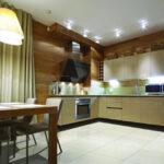 освещение над кухонным столом декор фото