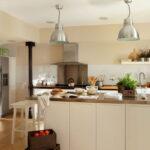 освещение над кухонным столом фото оформления