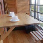 столик на балкон для кофе