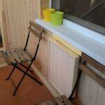 столик на балкон малый