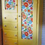 шкаф после реставрации виды оформления