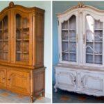 шкаф после реставрации фото