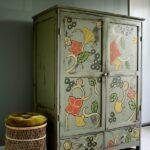 шкаф после реставрации декор идеи