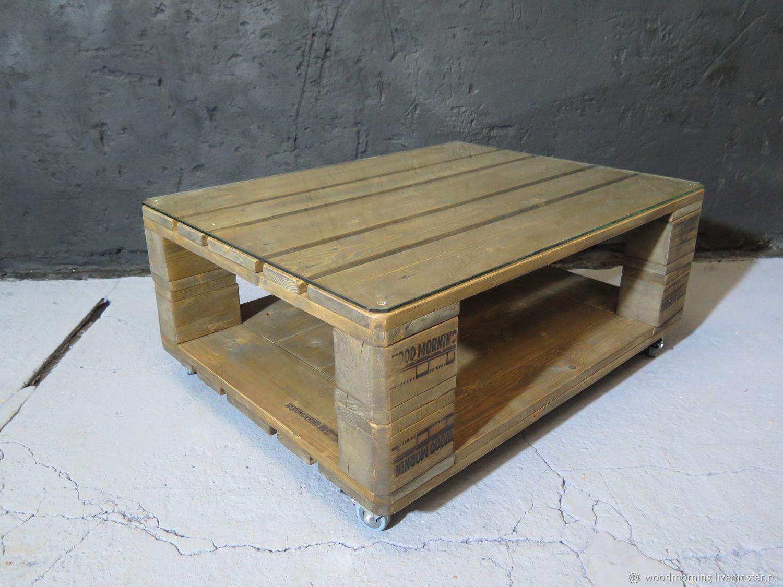 Столик из палет