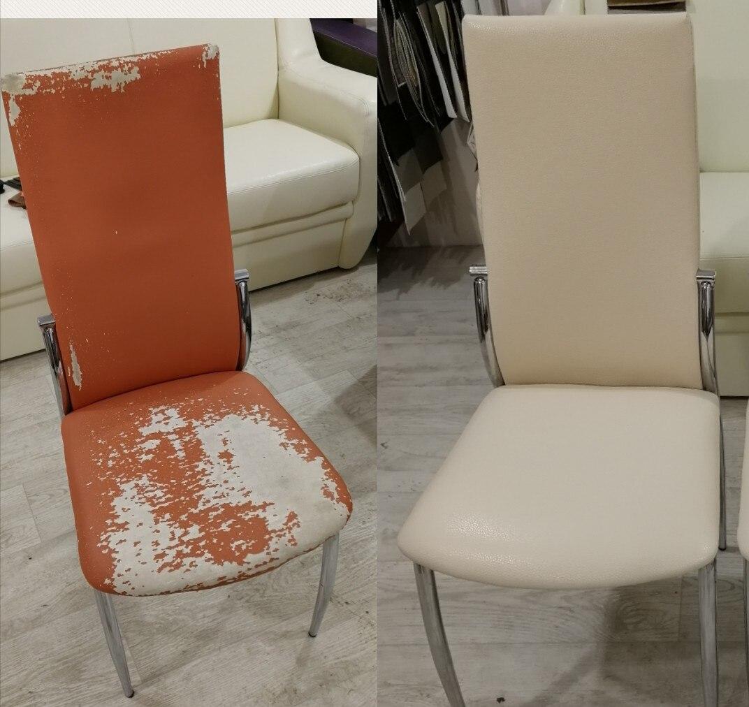 перетяжка стульев дизайн фото