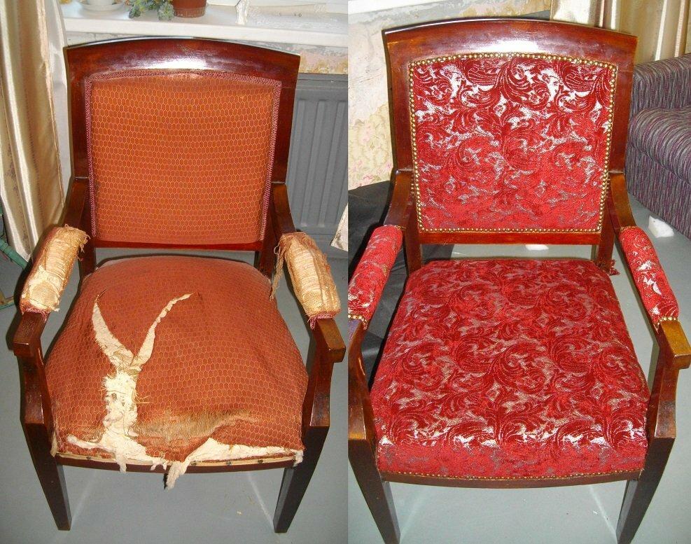 перетяжка стульев фото идеи