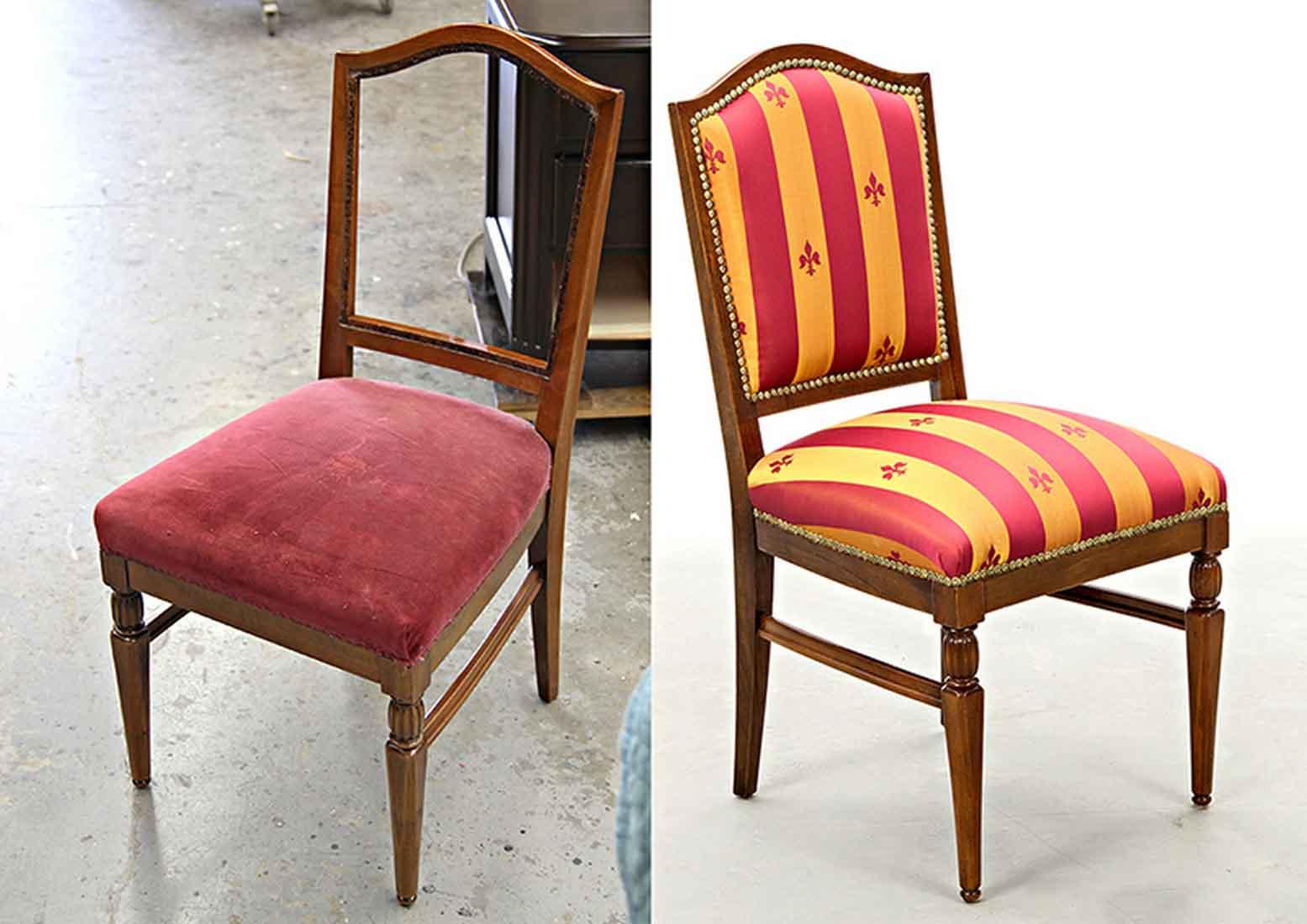 перетяжка стульев идеи