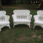 белые кресла плетеные