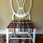 стул белый плетеный