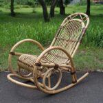 кресло плетеное из толстых прутьев