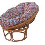 кресло с большой подушкрй