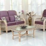 домашний диван плетеный