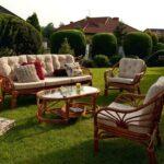 садовая мебель коричневая