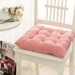 подушка для стула розовая