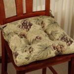подушка для стула бежевая