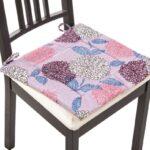 подушка для стула с цветами