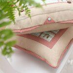 подушка для стула с пуговицей