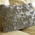 подушка для стула с узором