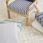 подушка для стула полпосатая