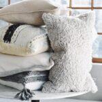 подушка для стула мохнатая