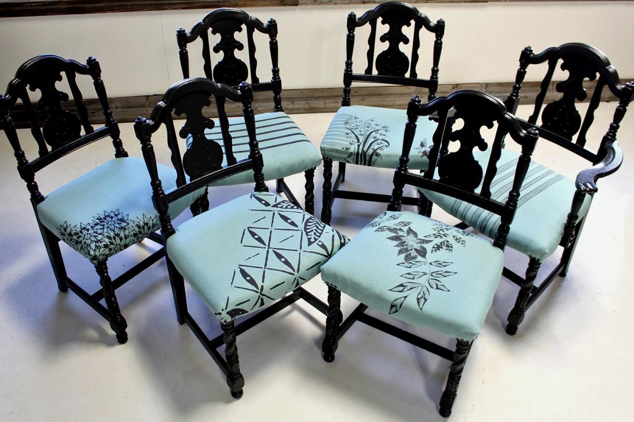 стиль подушки на стул