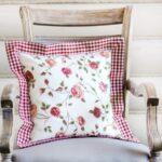 подушка для стула в цветочек