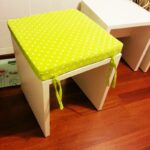 подушка для стула желтая
