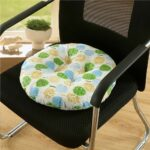 подушка для стула круглая мягкая