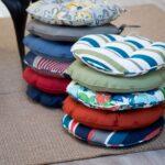 подушка для стула много круглых