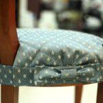 подушка для стула с бантом