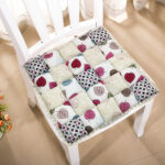 подушка для стула стеганая