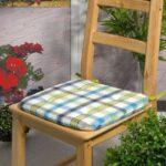 подушка для стула в клутку