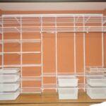 полки для гардероба из пластика