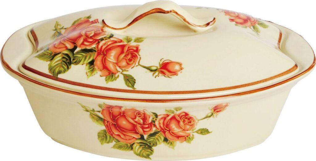 керамическая форма для запекания блюда