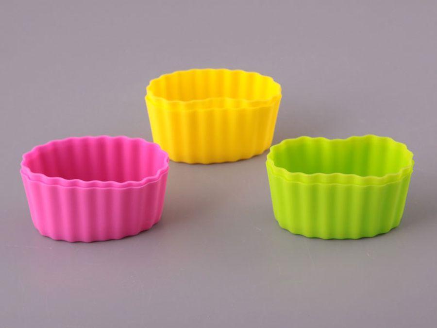 силиконовые формочки для кексов