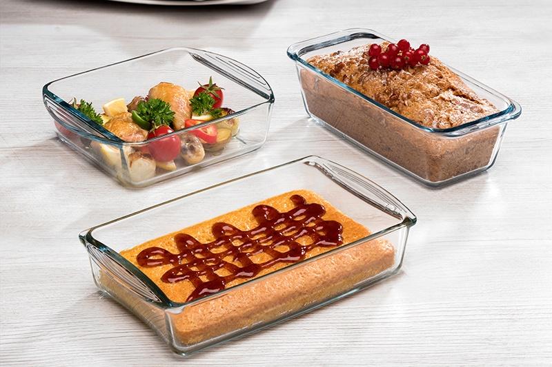 стеклянная посуда для запекания
