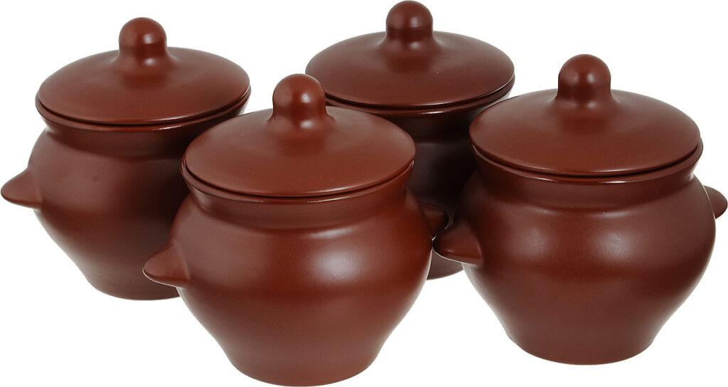 глиняные горшочки для духовки