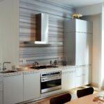 кухонный гарнитур линейный