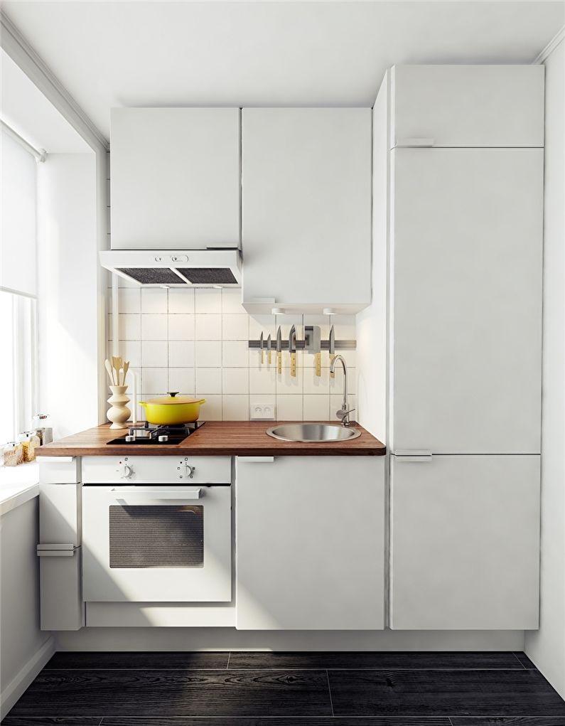 проектирование маленькой кухни