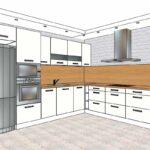 эскиз кухонного гарнитура