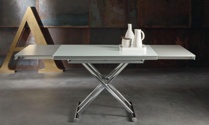 раскладной стол на металлической основе